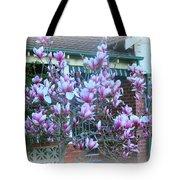 Magnolias At Home Tote Bag