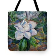 Magnolia's Flower Tote Bag