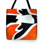 Magpie Original Painting Sold Tote Bag