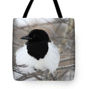Magpie Profile Tote Bag
