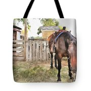 Mahaffie Stagecoach Stop And Farm Tote Bag