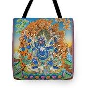 Mahankal Thangka Art Tote Bag