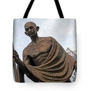 Mahatma Gandhi In Washington Tote Bag