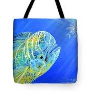 Mahi Mahi And Flying Fish Tote Bag