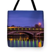 Maidstone Bridge Tote Bag
