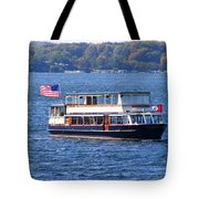 Mail Delivery Boat Lake Geneva Wisconsin Tote Bag