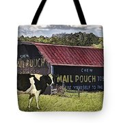 Mail Pouch Barn With Cow Tote Bag