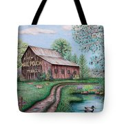 Mail Pouch Tobacco Barn Tote Bag