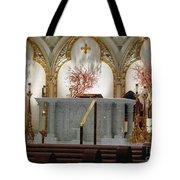 Main Altar Saint Jospehs Cathedral Buffalo New York Tote Bag