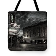 Main And Exchange Bw Tote Bag