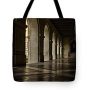 Main Building Arches University Of Texas Tote Bag
