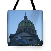Main Dome Of The State Capital Tote Bag