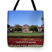 Main Quad Stanford California Tote Bag