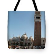 Main Square In Venice Tote Bag