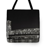 Main Street Bridge Jacksonville Florida Tote Bag by Christine Till