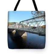 Main Street Bridge Shelbourne Falls  Tote Bag