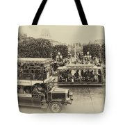 Main Street Transportation Disneyland Heirloom Tote Bag