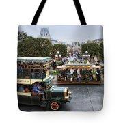 Main Street Transportation Disneyland Tote Bag
