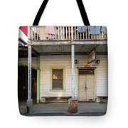 Main Street With Shops And Museum Tote Bag
