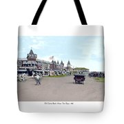 Maine - Old Orchard Beach Train Depot - 1910 Tote Bag