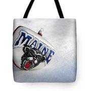 Maine Black Bears Ornament Tote Bag