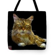 Maine Coon Cat - 3926 - Bb Tote Bag
