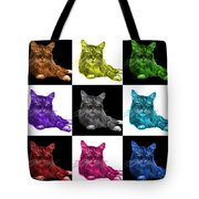 Maine Coon Cat - 3926 - V1 - M Tote Bag
