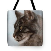 Maine Coon Painting Tote Bag