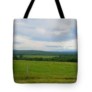 Maine Farmland Tote Bag