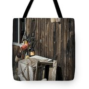 Maine Fishing Buoys And Nets Tote Bag