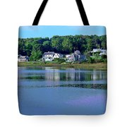 Maine Lakefront Tote Bag