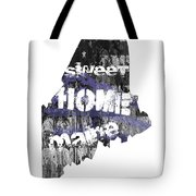Maine Map Cool Tote Bag