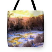 Maine Morning Inspiration Tote Bag