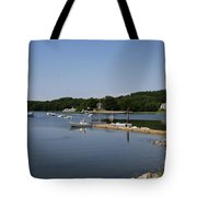 Maine Seascape Tote Bag