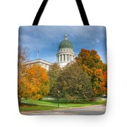 Maine State House Vii Tote Bag