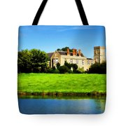 Maisemore Court And Church Tote Bag