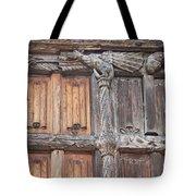 Maison De Bois Macon - Detail Wood Front Tote Bag