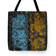 Maize And Blue 2 Tote Bag