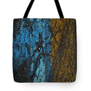 Maize And Blue Tote Bag