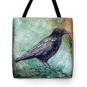 Majestic Crow Tote Bag