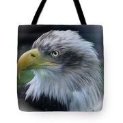 Majestic Eagle Of The Usa - Featured In Feathers And Beaks-comfortable Art And Nature Groups Tote Bag