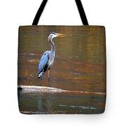 Majestic Heron Tote Bag