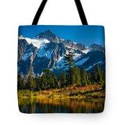 Majestic Mount Shuksan Tote Bag by Inge Johnsson