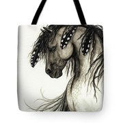 Majestic Mustang Horse Series #51 Tote Bag by AmyLyn Bihrle