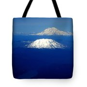 Majestic Northwest Mountains And The Mighty Columbia River Tote Bag