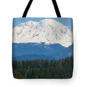 Majestic Rainier Tote Bag