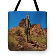 Majestic Saguaro Tote Bag
