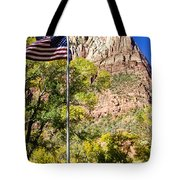 Majestic Sight - Zion National Park Tote Bag