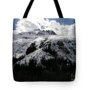Majestic Skagway Mountaintop Tote Bag