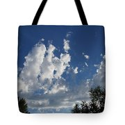 Majestic Sky - Building Cumulus Tote Bag